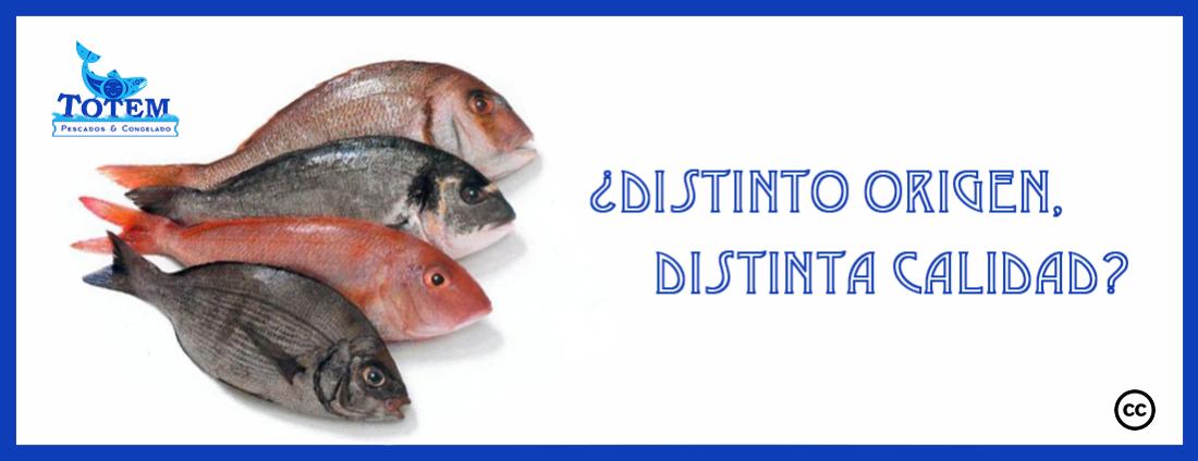 origen pescado